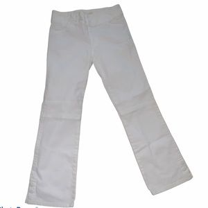 TORY BURCH white bootcut vintage jeans
